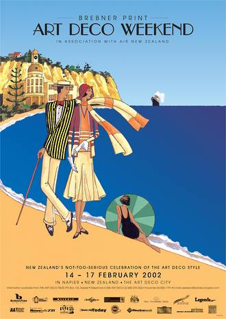 2002 Art Deco Weekend Poster