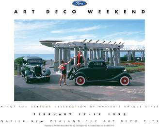 1995 Art Deco Weekend Poster