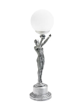 Gymnastic Girl with Ball uplight