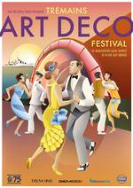 2017 Tremains Art Deco Festival Poster