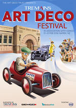 2016 Tremains Art Deco Festival Poster