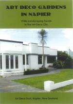 Art Deco Gardens in Napier - Information Leaflet