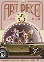 2013 Art Deco Weekend Poster