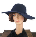 Wide Hat - Navy