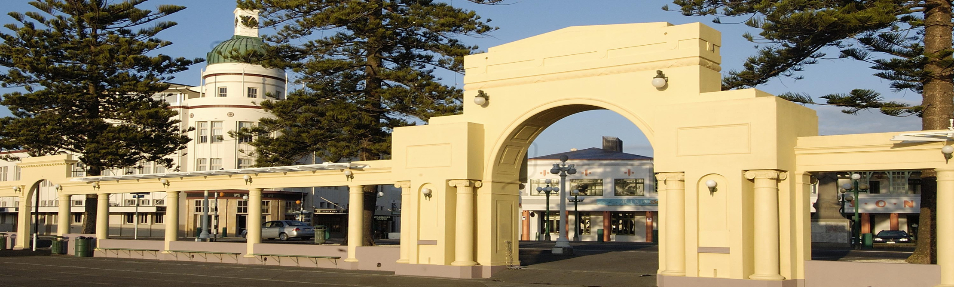 Art deco napier new napier arch 260