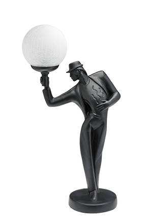 Art Deco Man uplight