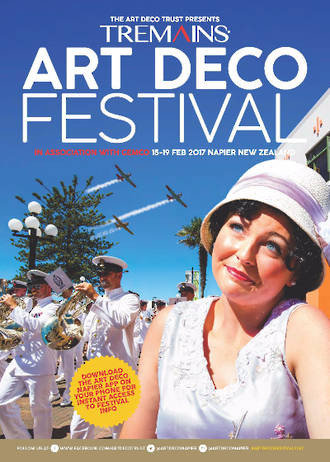 2017 Tremains Art Deco Festival Programme