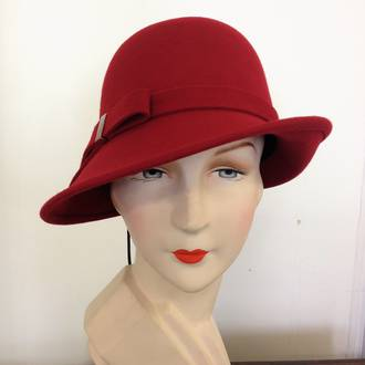 Deco Ladies Hat - Red