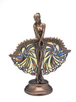 Tiffany Showgirl Table Lamp